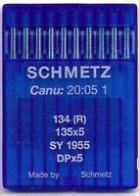 10 x Schmetz Flat Machine Universal (Regular) 134 (R) / 135x5 / SY 1955