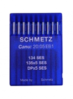 10 x Schmetz Flat Mach Jersey/Ball Point 134 SES / 135x5 SES