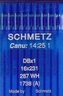 10 x Schmetz Flat Machine Universal (Regular) 16x231 / DBx1 / 1738 (A)