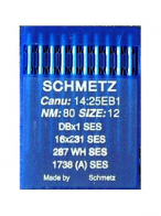 10 x Schmetz Flat Machine Ball Point 16x231 SES / DBx1 SES