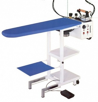 C5 Vacuum and Heated Ironing Table with Built-in Snail 5-litre Boiler