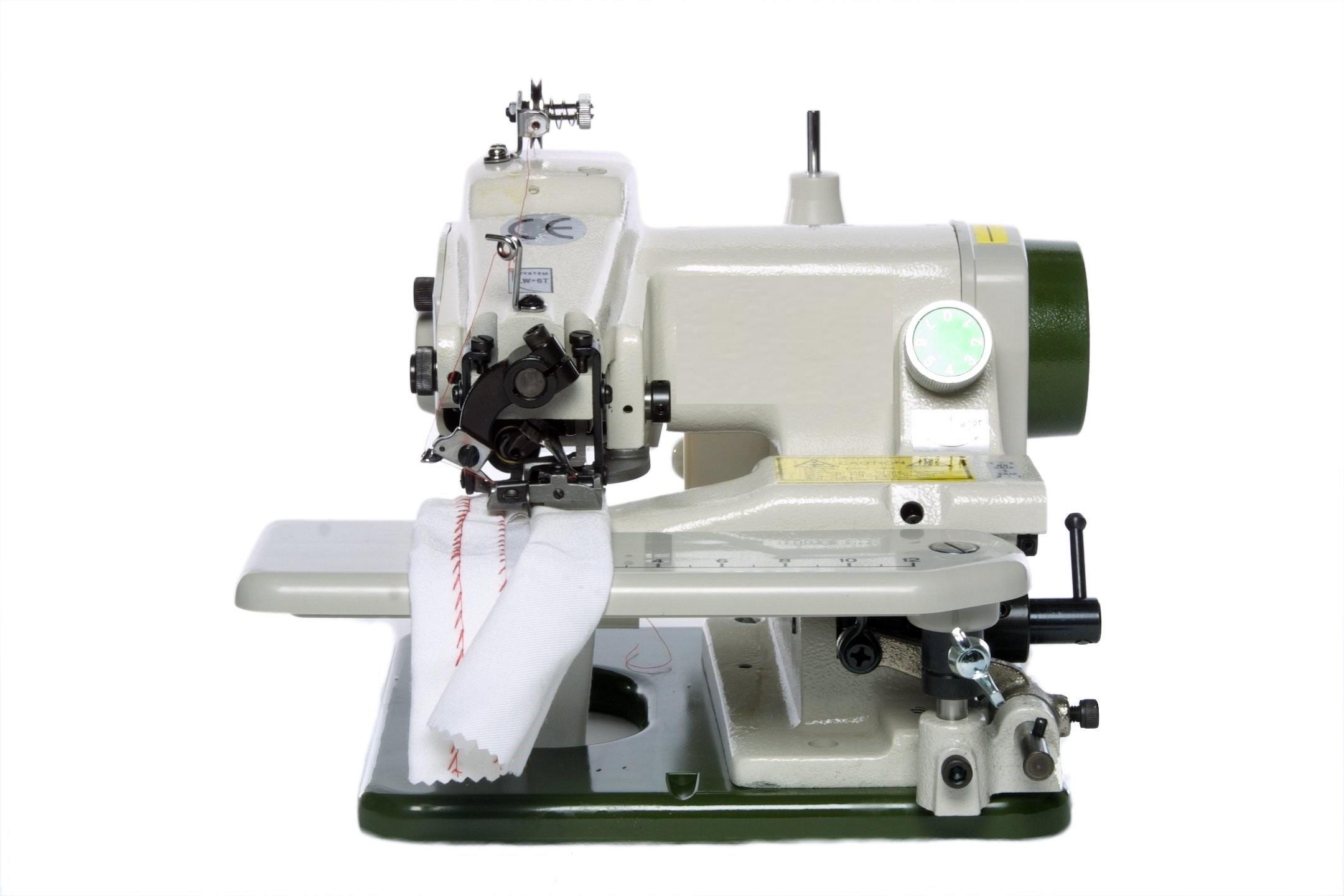 blind stitch hemming machine