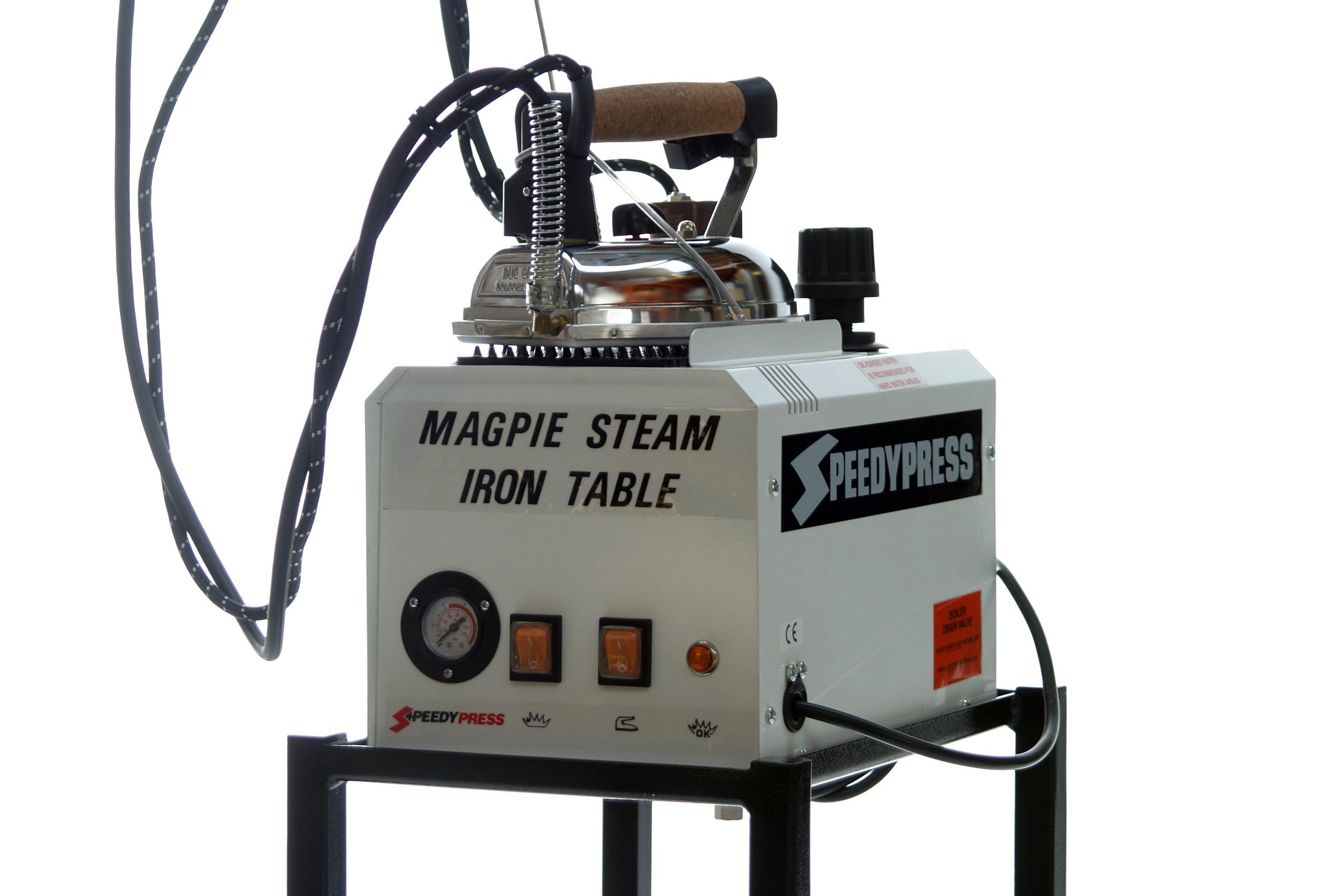 Magpie 5-litre British Ironing Boiler, Iron & Blow Down Bottle