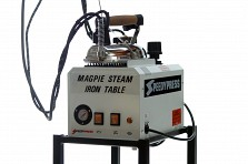 Magpie 5-litre British Ironing Boiler and Iron for Heavy Duty Industrial Use