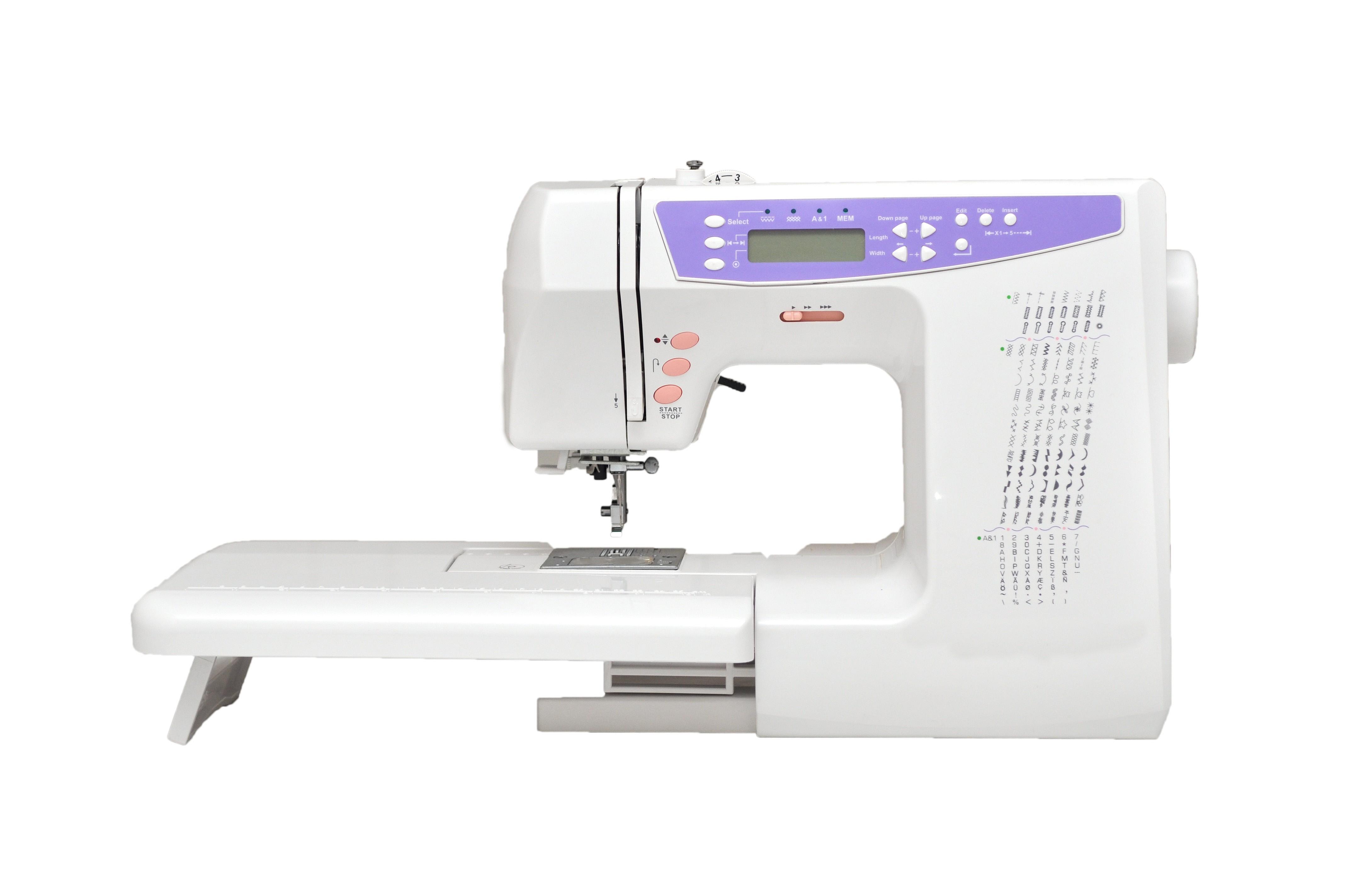 Sewing machine 404 170 stitches alphabet for Decor 99 sewing machine