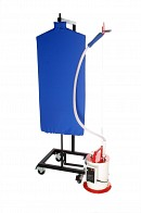 Spin Board for Use with Clothes Steamers & Ironing Systems