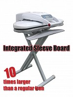 Stand for Steam Ironing Press with Sleeve Arm 65cm