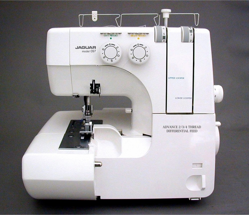 Jaguar 099 Overlocker and Monarch Q60B Sewing Machine Bundle