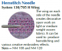 Schmetz Hemstitch / Wing, Pack of 2