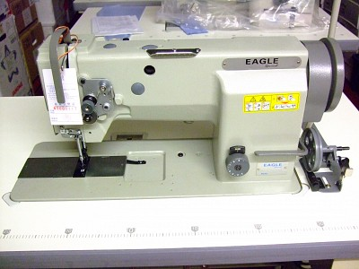 Eagle GC20606-1 Walking Foot Drop-in Bobbin Sewing Machine for Heavy Leather