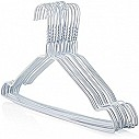 White Notched Galvanised Metal Hangers pack of 500