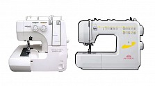 Jaguar 099 Overlocker and Monarch Q60B Sewing Machine Bundle